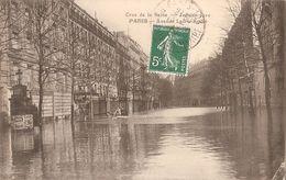 Paris -crue 1910-avenue Ledru-rollin - Inondations De 1910