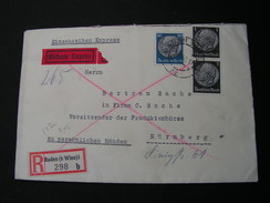 DR Cv. Baden  Wien Express Nürnberg 1940 - Occupazione 1938 – 45