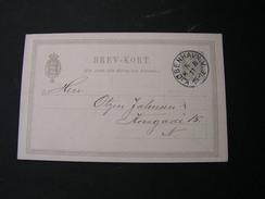 DK Karte 1894 - Ganzsachen