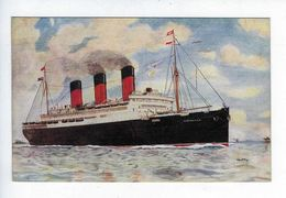 CPA R.M.S. Berengaria Cunard Line 1912 Salmon Serie N° 2678 - Dampfer