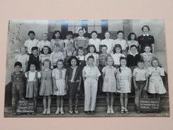 OROSI School Third Grade - Anno 1942 ( French Photocard Visalia CA - With ID ) U.S.A. ! - Geïdentificeerde Personen