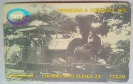 Trinidad 205CTTD First Train $20 - Trinidad & Tobago