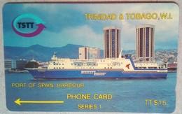 Trinidad 2CTTA Harbour $15 - Trinidad & Tobago
