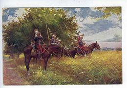 CPA Guerre 1914 1918 Régiment Les Dragons L.V.C. - Régiments