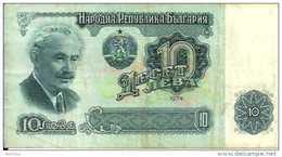 Bulgarie 10 LEVA Pick 96 TB - Bulgarie