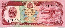 AFGHANISTAN 100 AFGHANIS 1358 (1979) P-58a UNC [AF342b] - Afghanistan