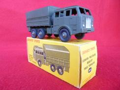 Dinky Toys Années 50/60 D'origine - 80D - Camion Militaire Berliet Tous Terrains - Peinture D'origine : Aucun éclat - Dinky