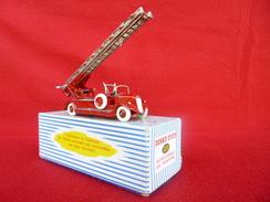 Dinky-Toys Auto-Echelle De Pompiers Delahaye - Fabriqué En France Par Meccano - Boite D'origine 32 D - Dinky