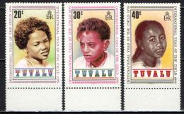 TUVALU - 1979 - ANNO INTERNAZIONALE DEL FANCIULLO - BAMBINI DI TUVALU - NUOVI MNH - Tuvalu