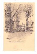 6252 DIEZ, Schlossbrunnen, Künstler-Karte, 1914 - Diez