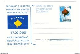 KOSOVO Postcard Independence 2008 Mint - Kosovo