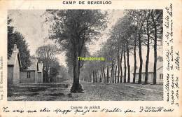 CPA CAMP DE BEVERLOO IMP. GOOSSENS MAHIEU CASERNE DES SOLDATS - Leopoldsburg (Kamp Van Beverloo)