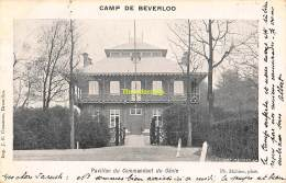 CPA CAMP DE BEVERLOO IMP. GOOSSENS MAHIEU PAVILLON DU COMMANDANT DU GENIE - Leopoldsburg (Camp De Beverloo)