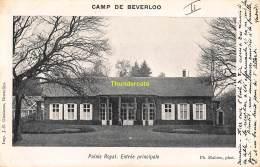 CPA CAMP DE BEVERLOO IMP. GOOSSENS MAHIEU PALAIS ROYAL ENTREE PRINCIPALE - Leopoldsburg (Camp De Beverloo)