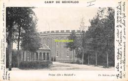 CPA CAMP DE BEVERLOO IMP. GOOSSENS MAHIEU PRISON DITE MALAKOFF - Leopoldsburg (Kamp Van Beverloo)