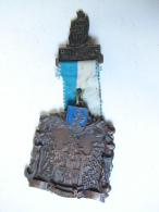 Méd. 23. Trés Grosse Médaille De DE H. Hubertus Patroon Van Tervuren. Tervuren-Bos - Professionnels / De Société