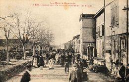 - FRONTON - Le Marché Et Les écoles  (bien Animée)  -19644- - Francia