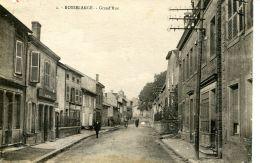 N°55789 -cpa Rosselange -grand'rue- - France