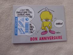 LOT DE 5 CARTES BELLES ILLUSTRATIONS DAN SALEL (sous Blister) - Cartes Postales