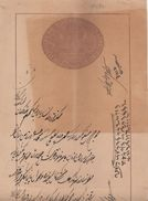 JHIND  State  8A  Stamp Paper  Type 5   # 59 A  #  01723 D Inde Indien  India Fiscaux Fiscal Revenue - Jhind