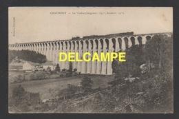 DF / 52 HAUTE MARNE / CHAUMONT / TRAIN A VAPEUR PASSANT LE VIADUC / CHEMIN DE FER / CIRCULÉE EN 1905 - Chaumont