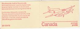 Canada - Booklet : 'Mosquito'  Word War II Fighter Bomber - 6 Stamps - Volledige Boekjes