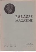 BALASSE MAGAZINE N° 23 - Belgique