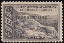 PHILIPPINES - Scott #438 Salt Spring 'Overprinted' (*) / Mint NG Stamp - Filipinas