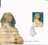 First Day Cover 22 Janvier 2004 -the Sphinx - Egypt