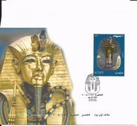 First Day Cover 22 Janvier 2004 -Tutankhamun's Golden Mask - Egypt