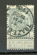 BELGIQUE  DIVERS - N° Yvert  53 Obli. - 1893-1907 Coat Of Arms
