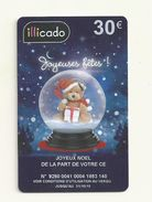CARTE CADEAU  ILLICADO 30 EUROS  VIDE - Gift Cards