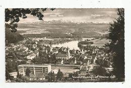 Cp, Allemagne , WALDSHUT , HOCHRHEIN , Mit Schweizer Alpen , Voyagée 1962 - Waldshut-Tiengen