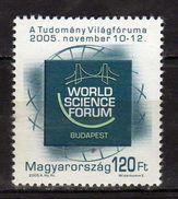 Hungary 2005 World Science Forum .MNH - Hongrie