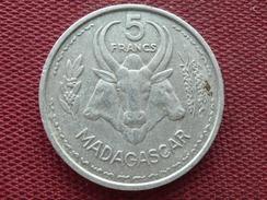 MADAGASCAR Monnaie De 5 Frs 1953 - Madagascar