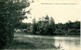 N°55796 -cpa Chaource -l'étang Et Le Chalet De La Cordelière- - Chaource