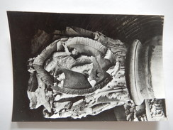 CPSM - CLUNY - ANCIENNE EGLISE ABBATIALE - CHAPITEAU - LE 4e TON DU PLAIN CHANT - PHOTO VERITABLE - R5842 - Cluny