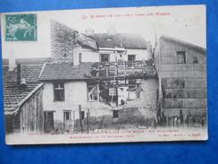VOSGES   88    ST-DIE  -   RUE DE LA PRAIRIE   -   BOMBARDEMENT DU 15/11/1914     TTB - Saint Die