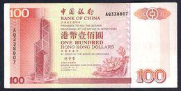 Hong Kong - 100 Dollars 2000  Bank Of China - P331f - Hong Kong