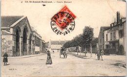 18 - SAINT AMAND MONTROND -- Cours Manuel - Saint-Amand-Montrond