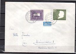 1956 Bergen(Oberbay) Heinrich Reine & Mozart ALLE RANDSCTÜCKE + Notopfer München (k153) - BRD