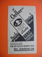 Dr.Oetker Pecilni Prasek Bracklin.Recipes-cooking - Werbung