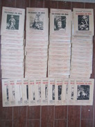 Lot De 60 REVUES Série Histoire Illustrée De La GUERRE De 1914 Par Gabriel Hanotaux - 1900 - 1949