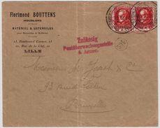 Etapes, 1916, Lille, Timbres De Baviere   ,   #8701 - Guerre 14-18