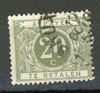 BELGIQUE  TAXE - N° Yvert 28 Obli - Stamps
