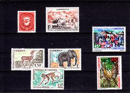 CAMEROUN - CAMEROON - **/MNH - CATTLE, FAUNA, TOURISM - 1956/1971 - Camerun (1960-...)