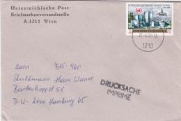 Austria Cover Franked W/1989 10 Jahre Büro Der UNO In Wien Posted Wien 1992 (SKO15-23) - UNO