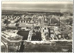 DUNKERQUE Vue Aérienne Raffineries Des Pétroles (2 Scans) SmGF - Dunkerque