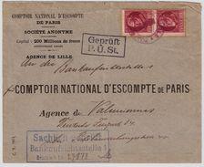"""Etapes,  """" Lille """", Timbres De Baviere   ,   #8707 - Guerre 14-18"""