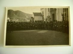 Lotto 4 Cartoline  Processione Con Militare Ww2 Luogo Da Identificare  Stendardo Gioventu Cattolica Italiana   L GRECIA - Guerre 1939-45